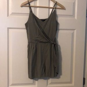 One clothing side tie romper